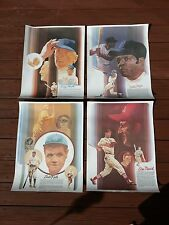 NEW Coca-Cola 1976 Poster Series Stengel Mays Ruth Musial Yankees Cardinals CUBS