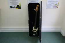 Vintage Fender USA Jazz Bass In Gloss Black with a White Pick Guard (ca.1980)
