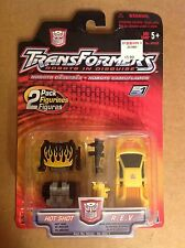 Transformers Robots in Disguise Hot Shot & R.E.V. 2 pack sealed MOC RID