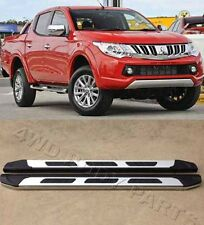 ( Out of stock ) Mitsubishi Triton MQ Dual Cab 15-18 Side Steps Running Boards