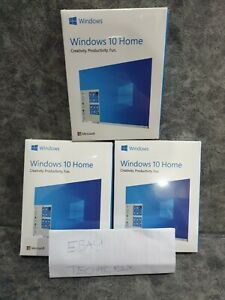 GENUINE Windows 10 Home USB Retail 32/64bit HAJ-00055 BRAND NEW SEALED