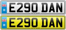 E290 dan privado número de matrícula Daniel Danielle Danson Dansen Danny Danni Daniel