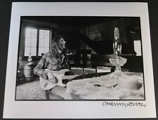 Neil Young Photograph California Dreaming Signed By Photographer Henry Diltz