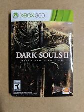 Dark Souls II -- Black Armor Edition (Microsoft Xbox 360, 2014)