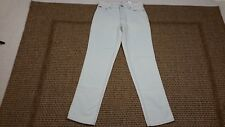 Tommy Hilfinger womens high waisted Mom jeans light wash straight leg size 4