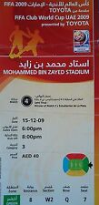 TICKET FIFA Club World Cup UAE 15.12.2009 Pohang Steelers - Estudiantes La Plata
