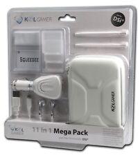 Kit Accessori 11 in 1 DSi Mega Pack White per Nintendo 3DS, DSi DSlite NUOVA