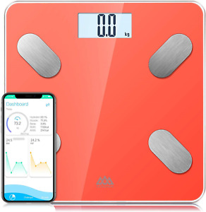 SENSSUN Bluetooth Body Fat Scale,Digital Body Weight Bathroom Scales Weighing