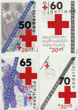 Nederland Maximumkaart 1983 Molenreeks R61-R64 - Rode Kruis / Red Cross