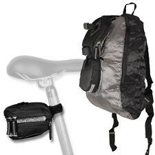 2in1 Satteltasche mit Rucksack Fahrradtasche Fahrrad Tasche Gepäcktasche NEU