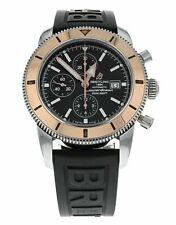 Breilting Superocean Heritage Chronograph 46 Steel and 18k Rose Gold Men's Watch