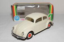 PEPE PORTUGAL PLASTIC VW VOLKSWAGEN BEETLE KAFER WHITE NEAR MINT BOXED