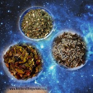 Magical Herbal Blend Spell Mix| Planetary Spell Blends | Witchcraft/Wicca/Pagan