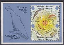 TIMBRE STAMP BLOC ILES FALKLANDS  Y&T#4 OISEAU FAUNE NEUF**/MNH-MINT 1984 ~A37