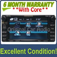 Toyota 4Runner E7008 Navigation GPS Radio Display 4 CD Player AUX Satellite OEM