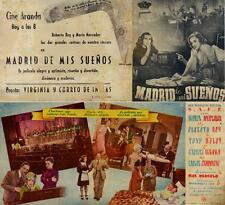 Programa PUBLICITARIO de CINE: MADRID de mis SUEÑOS.