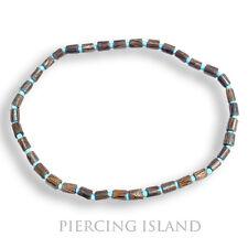 Surfer Skater Ethno Kette Halsband Tribal Maori Holz Handarbeit Design N052