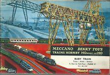 Catalogue MECCANO DINKY TOYS HORNBY ACHO HO 1961 train catalogo katalog jouet