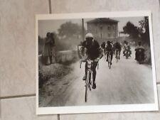 rare grande PHOTO ancienne Velo Cyclisme  TOUR LOMBARDIE Italie GINO BARTOLI