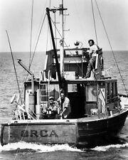 Jaws B&W 16x20 Canvas Giclee Orca Roy Scheider Robert Shaw