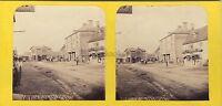 Ville A Identificare UK ? Canada? Foto Stereo Vintage Albumina Ca 1870