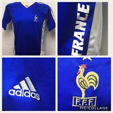 Adidas Mens Small France World Cup Soccer Jersey Futbol Football 2006