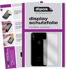 2x Apple iPhone X / 10 arrière Film de protection d'écran protecteur clair dipos
