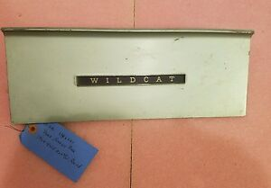 1964 BUICK Wildcat (or LeSabre) Glove Box Door NICE!