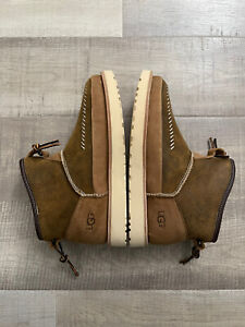 UGG Campfire Bomber Pull-On Lamb Fur Lined Boot NEW! Men's Size 8.5