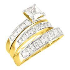 Bandringe aus Gelbgold mit Diamanten