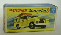 Repro Box Matchbox Superfast Nr.12 Safari Land Rover