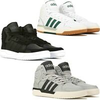adidas Entrap High Top Sneakers Men's Lifestyle Comfy Shoes