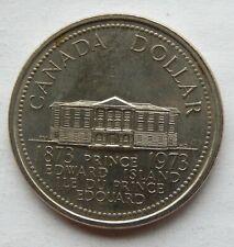 CANADA 1973  $1 DOLLAR  COIN PRINCE EDWARD ISLAND COMMEMORATIVE PL  DBW
