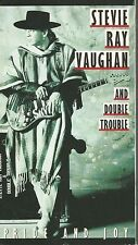 Stevie Ray Vaughan & Double Trouble - Pride and Joy (VHS TAPE)