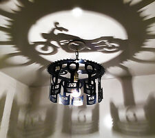 Unique Motorcycle Piston shadow light Made in the USA, Harley