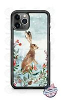 Hare Rabbit Winter Country Life Phone Case For iPhone Samsung Note 20 LG Google