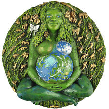 Millennial Gaia Plaque ~ Mother Earth ~ Moana Goddess Te Fiti