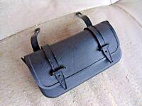 Alte Werkzeugtasche / Satteltasche für Oldtimer Fahrradatteltasche
