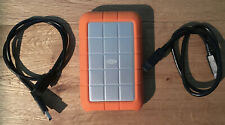 LaCie Rugged 500GB 7200RPM FireWire 800 USB 3.0 Portable External Hard Drive