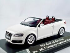 Audi A3 Cabriolet  2008-2013  ibisweiss  / Minichamps  1:43