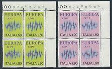 1972 ITALIA EUROPA QUARTINA MNH ** - ED-3