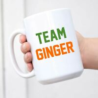 Team Ginger Funny St. Patricks Day Funny Cute Redhead Ceramic Coffee Mug Tea Cup