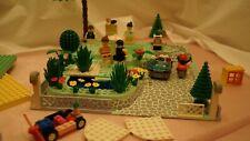 Lego Steine, Platten, Bäume, Swimmingpool, Autos, Puppen, Zubehör und und und..