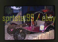 """1972 Auto Show - """"Dizzy"""" Dean's Custom VW Dune Buggy Pick Up - Vtg 35mm Slide"""