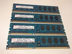HYNIX 4GB (4x1GB) DDR3-1333 PC3-10600U DIMM HMT112U6TFR8C-H9 N0 AA-C MEMORY