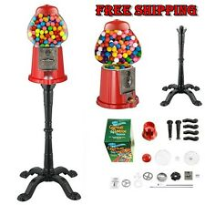 Vintage Retro Old Premium Candy Bubblegum Machine Candy Coins Gift Vending Stand