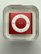 Apple Ipod Shuffle 4. Generation Red Product Red 2GB New Sealed