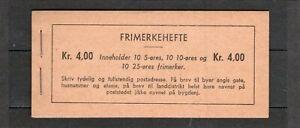 Norway MNH booklet - VF - Norgeskatalogen  FH- 21 I B
