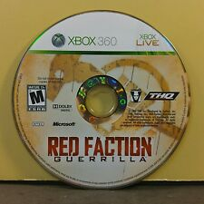 RED FACTION GUERRILLA (XBOX 360) USED AND REFURBISHED (DISC ONLY) #10961