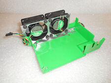 GENUINE Dell Optiplex Sx260 SX270 USFF Dual Fans Assembly W/ Shroud J1312 9U065
